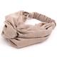 Brown Plaid Headband