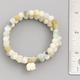 Mini Elephant Stone Bead Bracelet Set