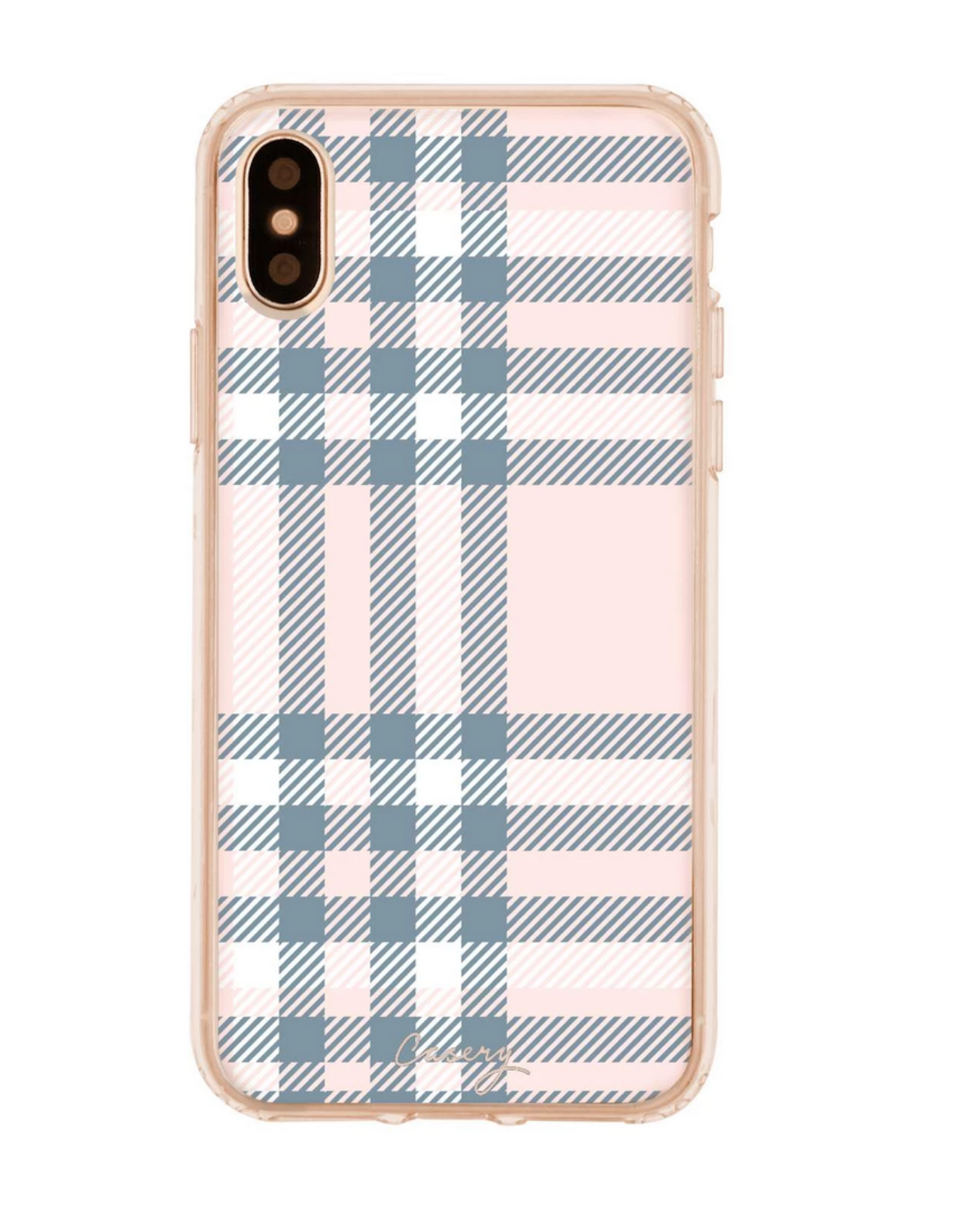 Casery Cashmere Plaid iPhone