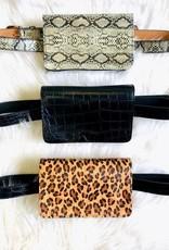 Pretty Simple Animal Print Waist Bags