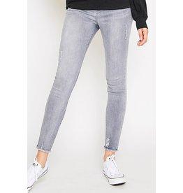 Peach Love California Frayed Hem Skinny Jean
