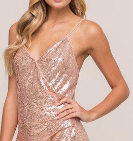 Lush Clothing DIVA SEQUIN DRESS