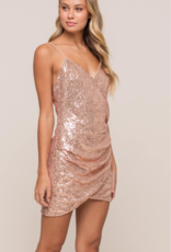 Lush Clothing DIVA SEQUIN DRESS