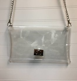 Pretty Simple Clear Stadium Crossbody