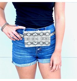 Pretty Simple Animal Print Waist Bags