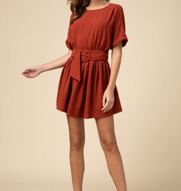 Sasha Scoop Neck Dress