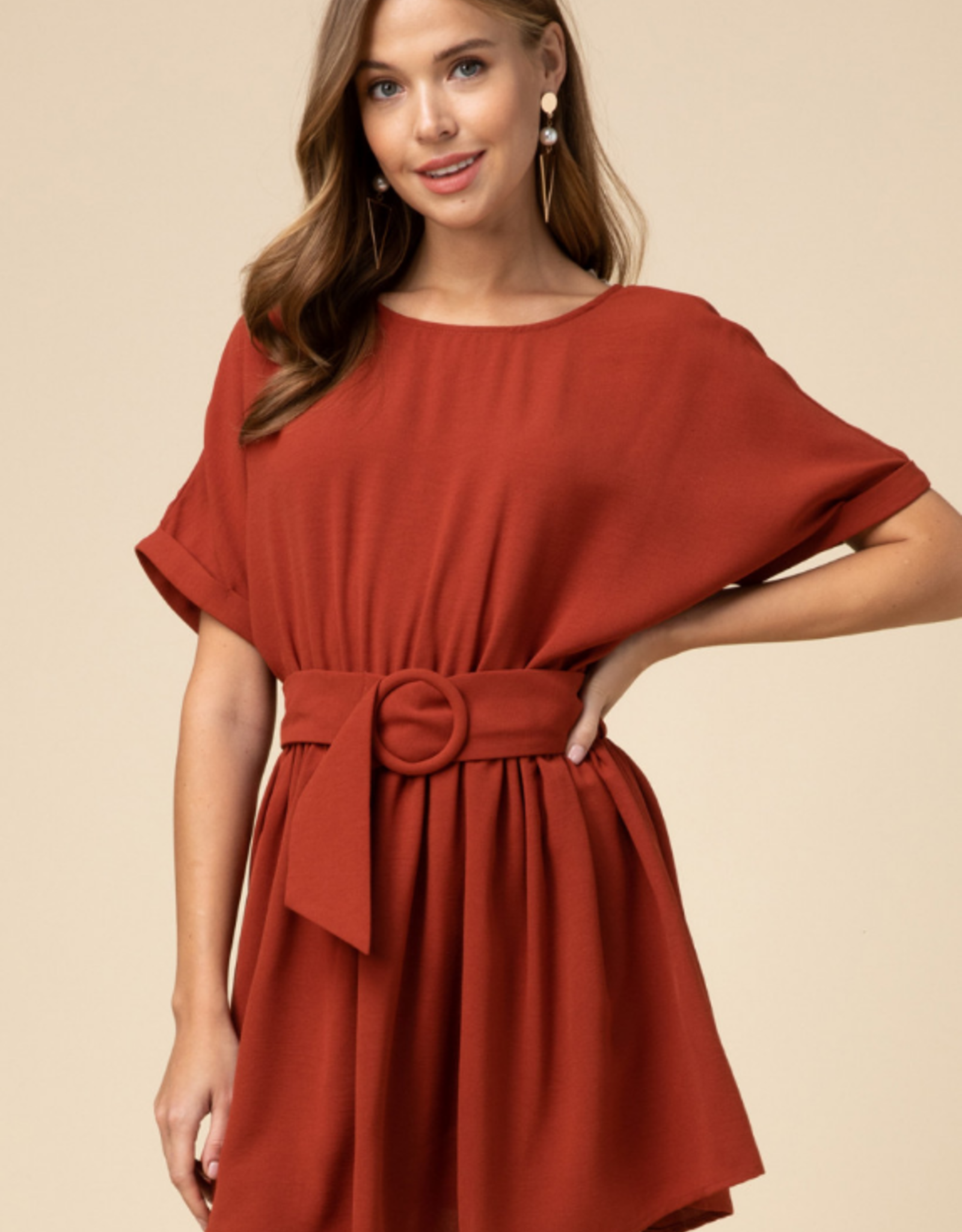Sasha Scoop Neck Dress