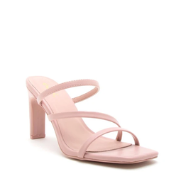 Qupid Kaylee- Strappy Mule Sandals