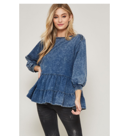 Promesa French terry knit top