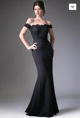 Off The Shoulder Long Maxi Evening Dress