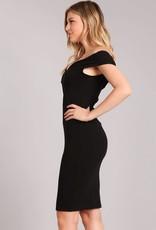 AAAA Fashion Midi Dress Solid Bodycon Dress