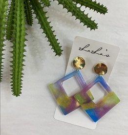 Pastel Acrylic Earrings