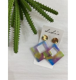 Pastel Acrylic Earrings