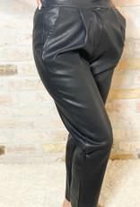 POLINE Faux Leather Pants