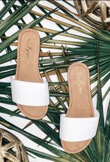 Red Shoe lover Slide Sandal