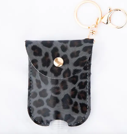 Pretty Simple Animal Print Hand Sanitizer with pouch