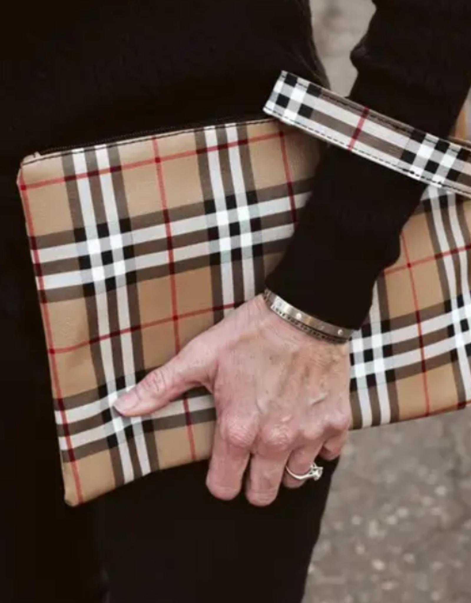 Pretty Simple Furberry Clutch / Wristlet