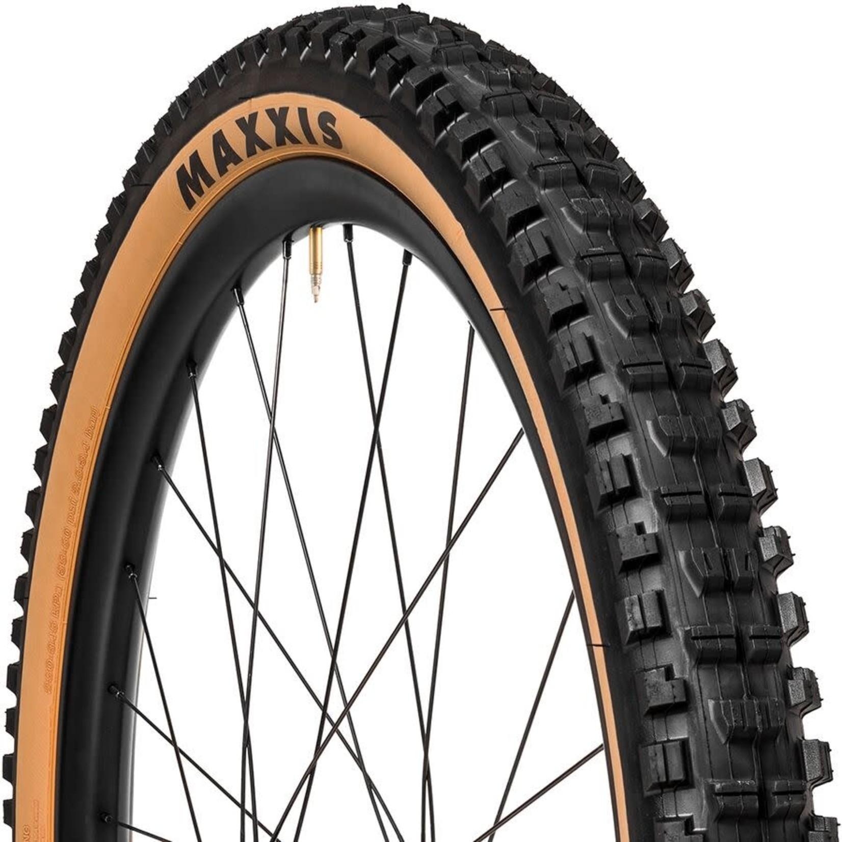 Maxxis Maxxis Minion DHF Tire - 27.5 x 2.3, Tubeless, Folding, Black/Tan, 3C Maxx Terra, EXO