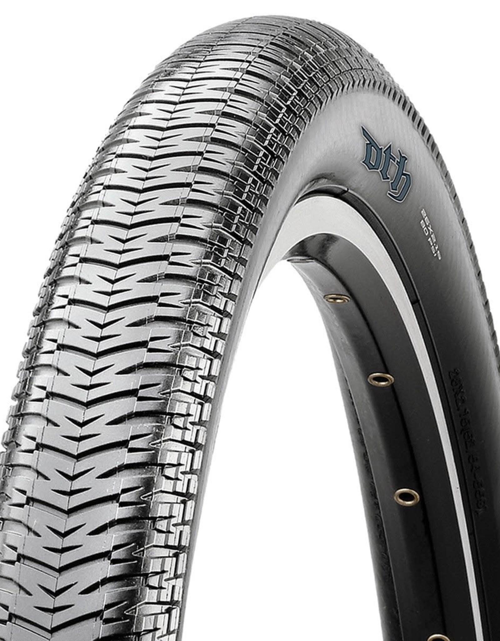 Maxxis Maxxis DTH Tire - 26 x 2.15, Clincher, Folding, Black, Single