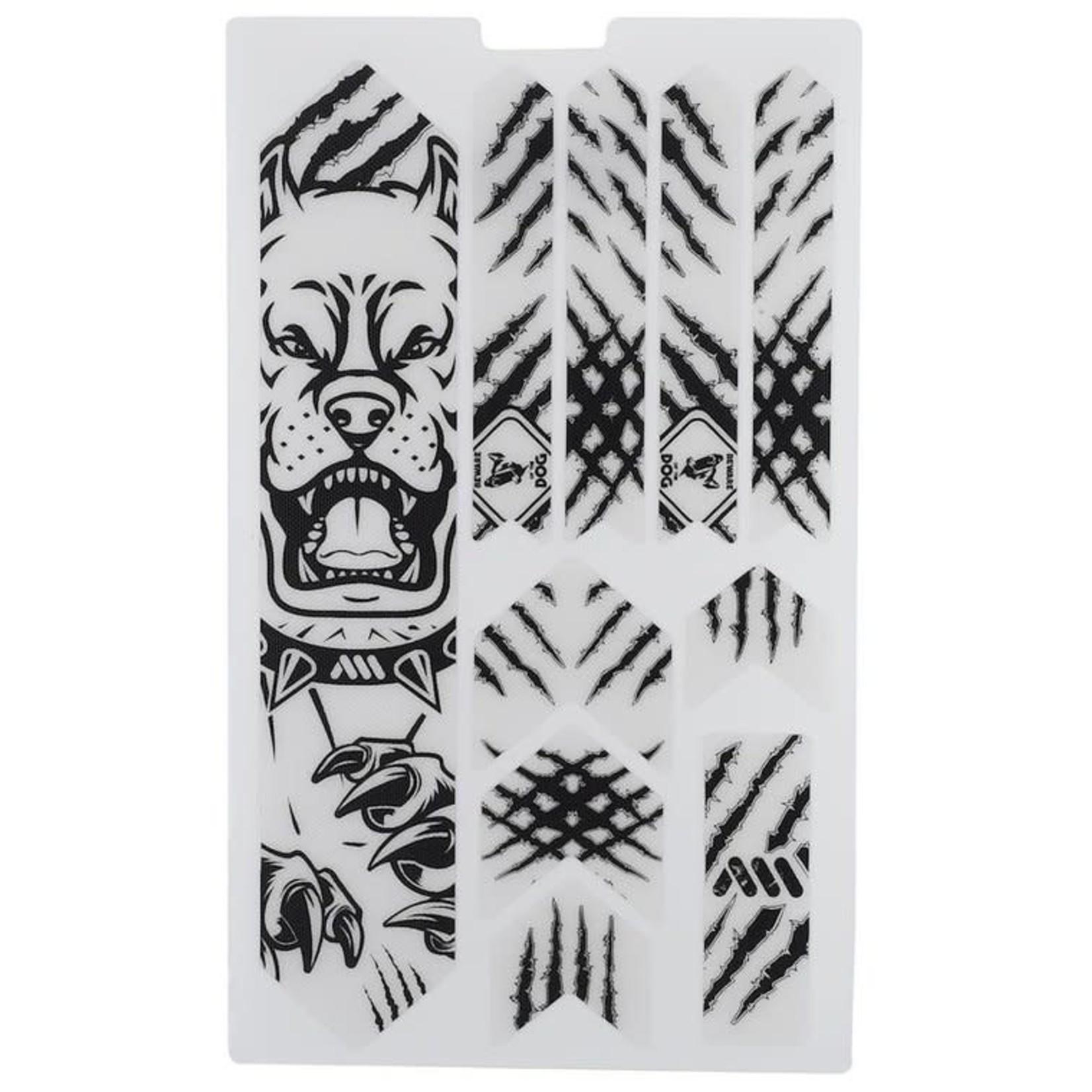 All Mountain Style Extra Honeycomb Frame Guard, Pitbull/Black