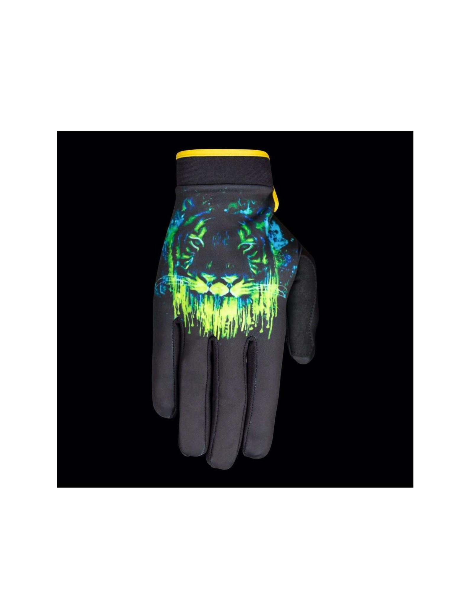 Saints of Speed SAINTS OF SPEED Radioactive Glove, Black/Neon- M