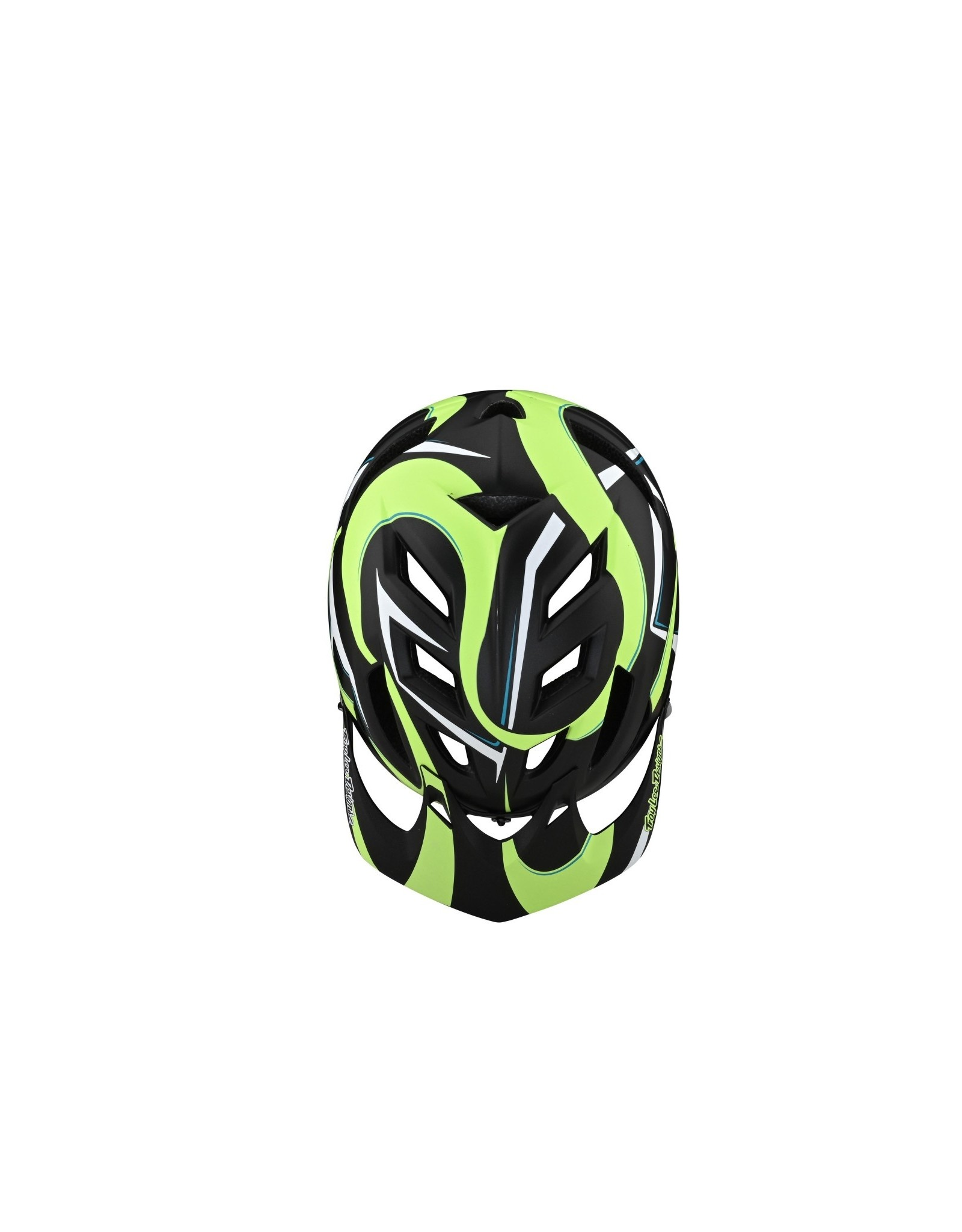 TROY LEE A1 YOUTH HELMET WELTER BLK/GREEN