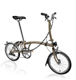Brompton Brompton M Type 2 Speed Raw Laquer
