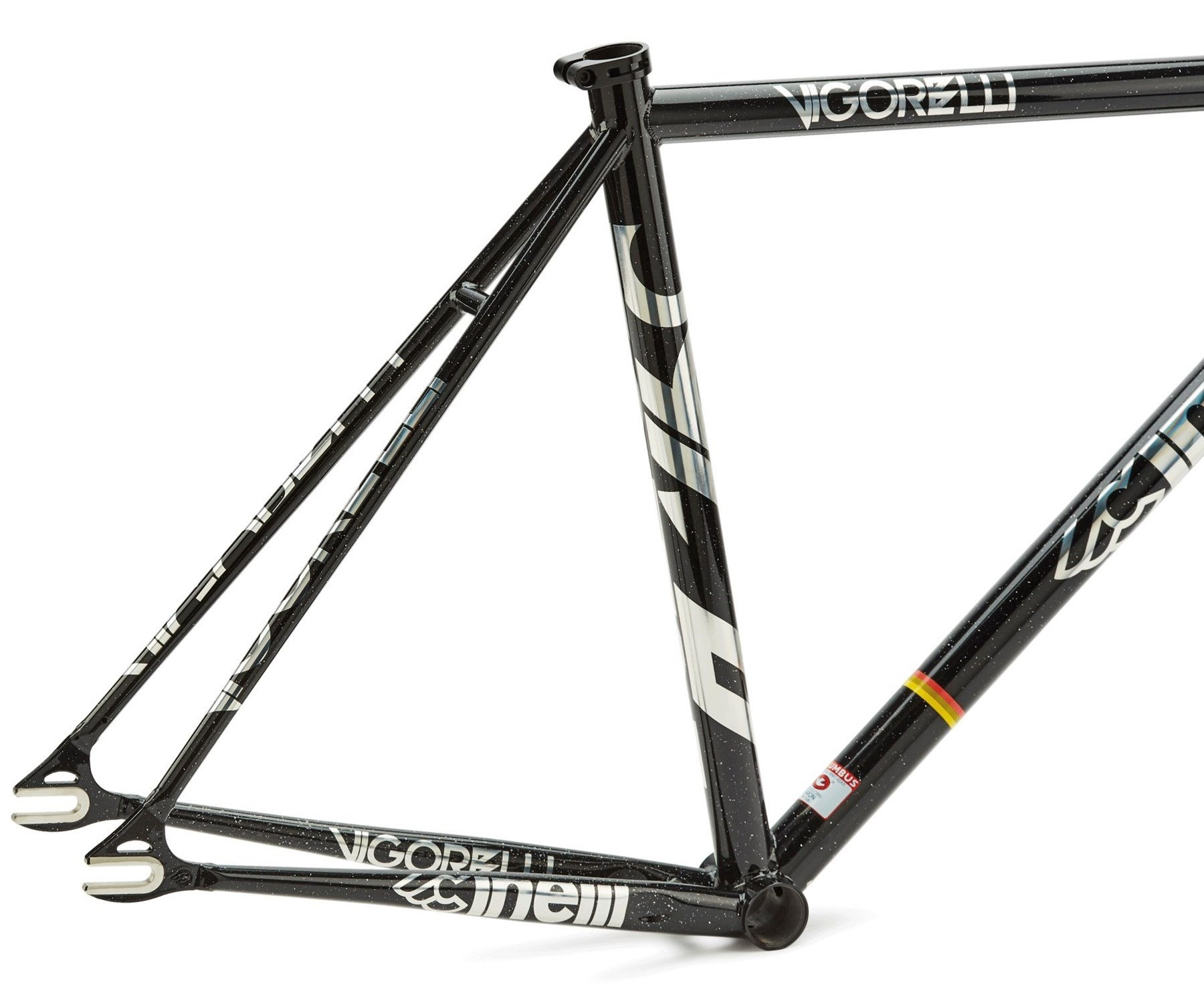 Cinelli Vigorelli Steel Track Frameset-2