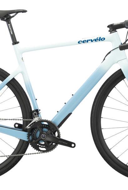 CERVELO Aspero GRX RX600 54cm White/Blue