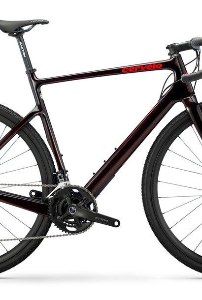 Áspero GRX RX600 CARBON/RED SIZE 56
