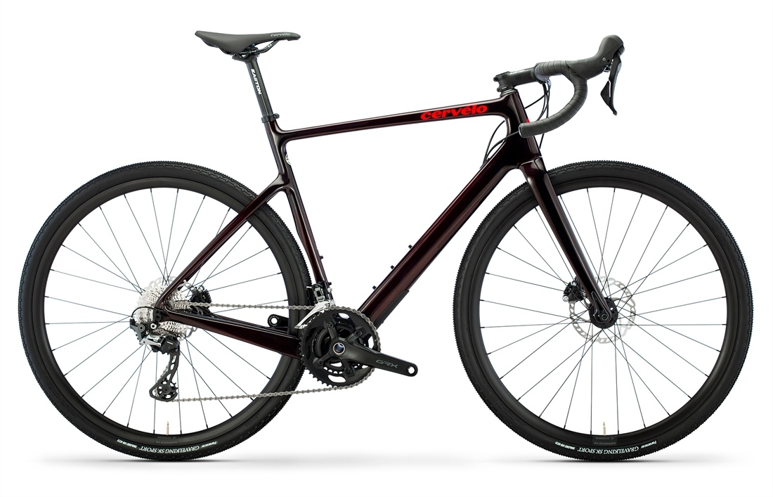 Áspero GRX RX600 CARBON/RED SIZE 56-1