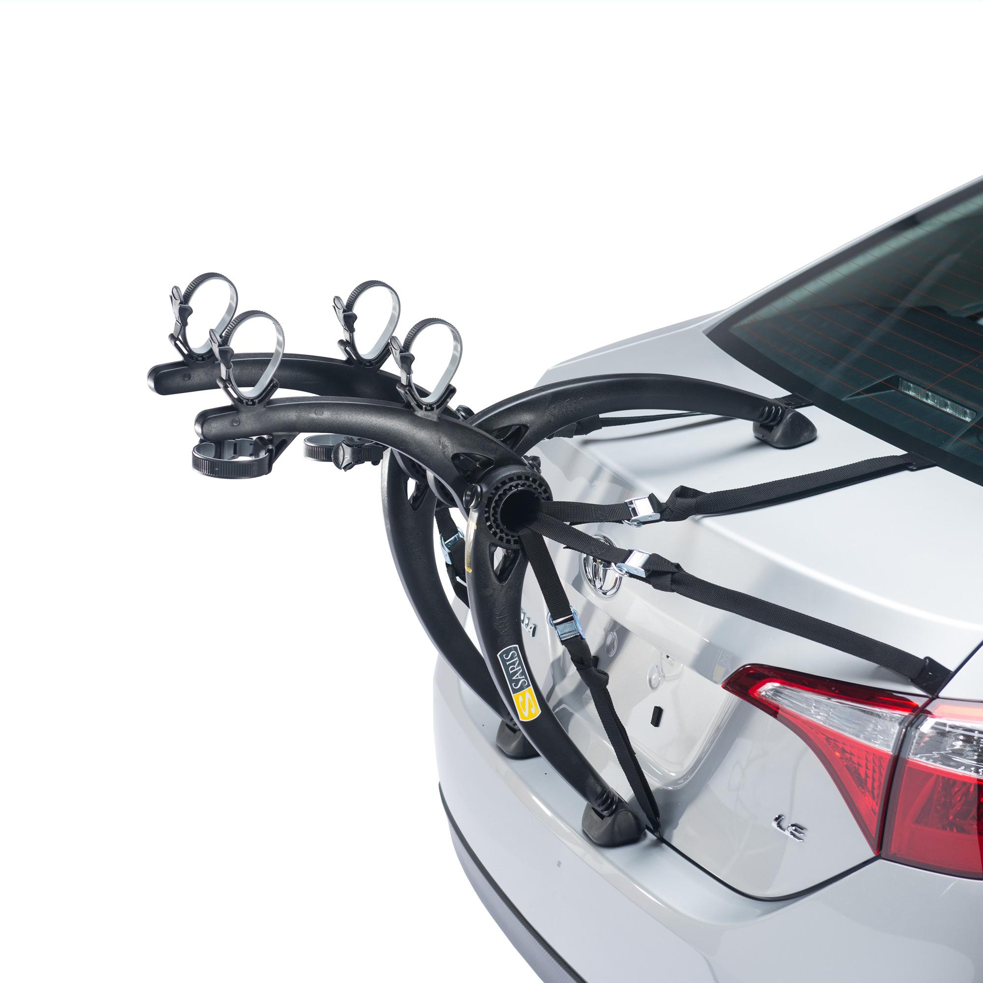 Saris Bones Trunk Rack: 2-Bike Black-2