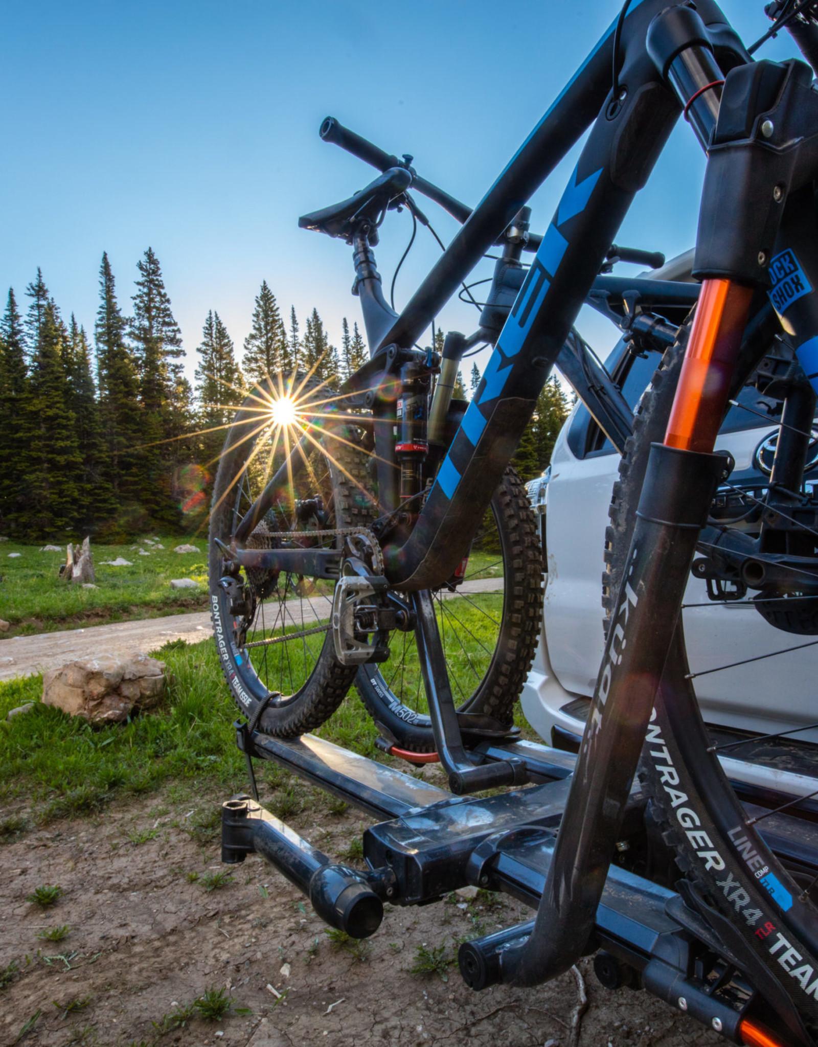 "Kuat Kuat NV 2.0 Hitch Bike Rack - 2-Bike, 2"" Receiver, Metallic Gray/Orange"