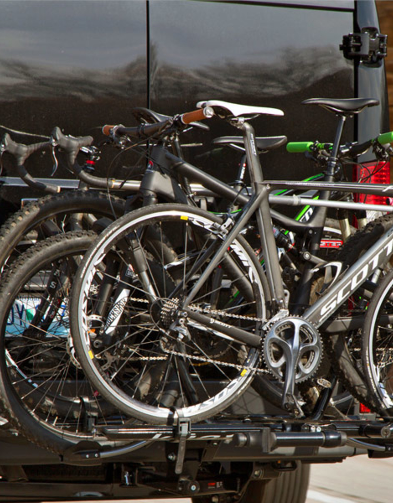 Kuat Kuat NV 2.0 +2 Bike Add-On, Metallic Gray/Orange