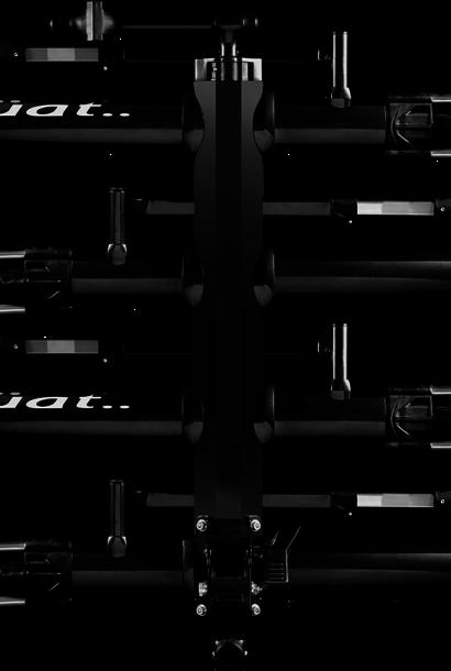 Kuat NV 2.0 +2-Bike Add-On, Metallic Black/Ano Grey