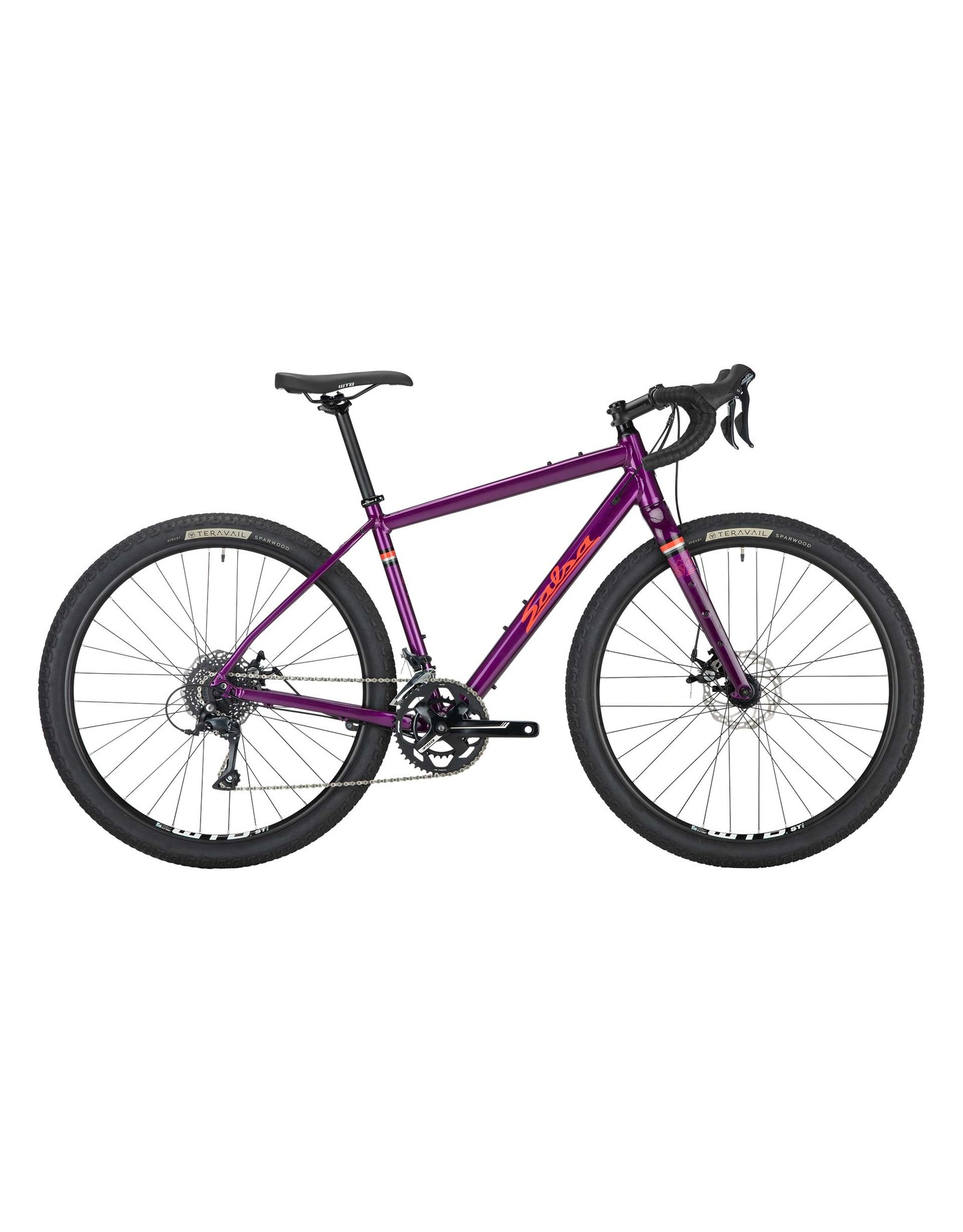 Salsa Salsa Journeyman Sora 650 Bike - 650b, Aluminum, Purple, 55.5cm