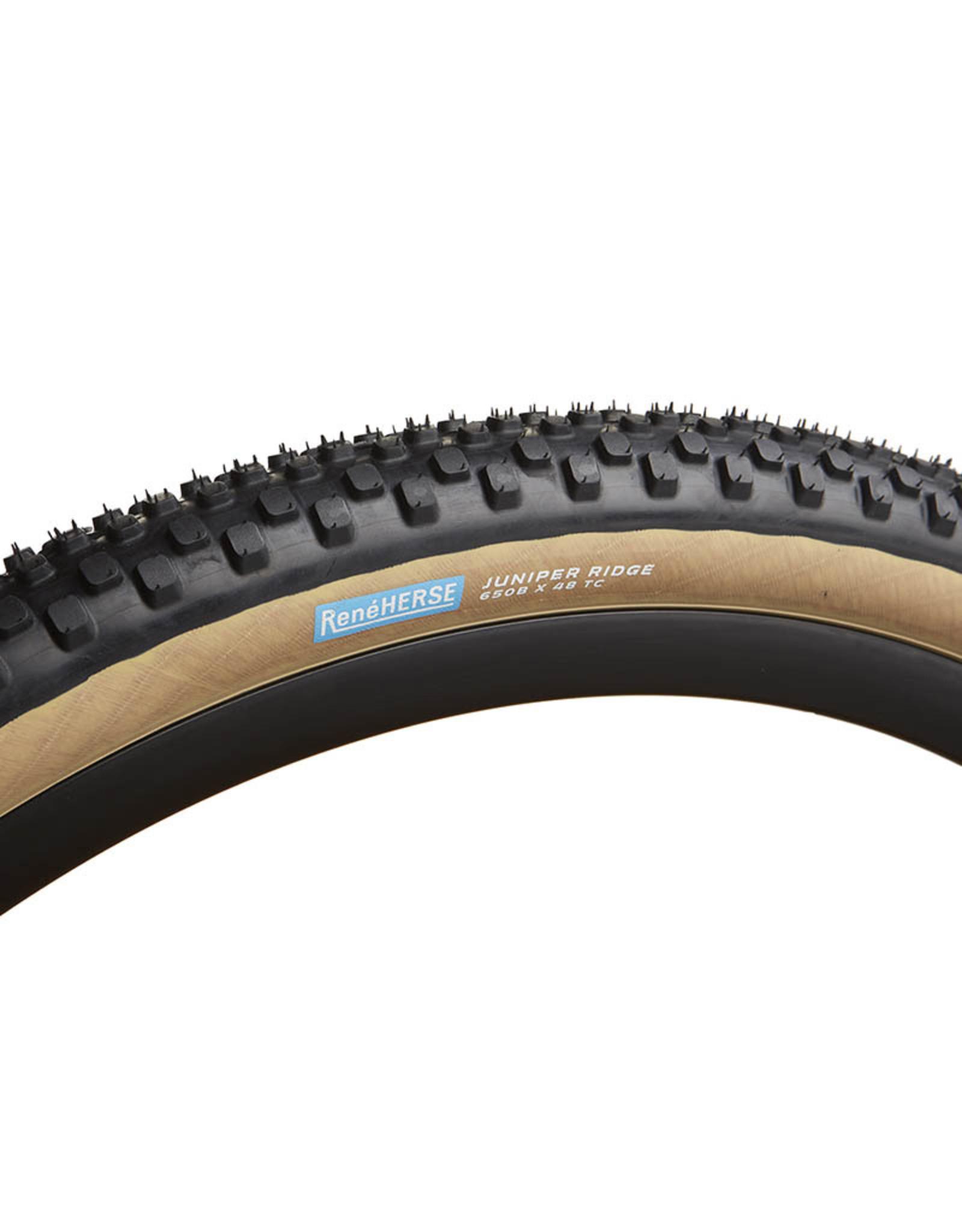 Rene Herse Juniper Ridge Tire TC casing tan 650B x 48