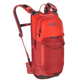 evoc EVOC, Stage 6 + 2L Bladder, Hydration Bag, Volume: 6L, Bladder: Included (2L), Orange/Chili Red