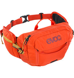 evoc EVOC, Hip Pack 3L + 1.5L Bladder, Hydration Bag, Volume: 3L, Bladder: Included (1.5L), Black