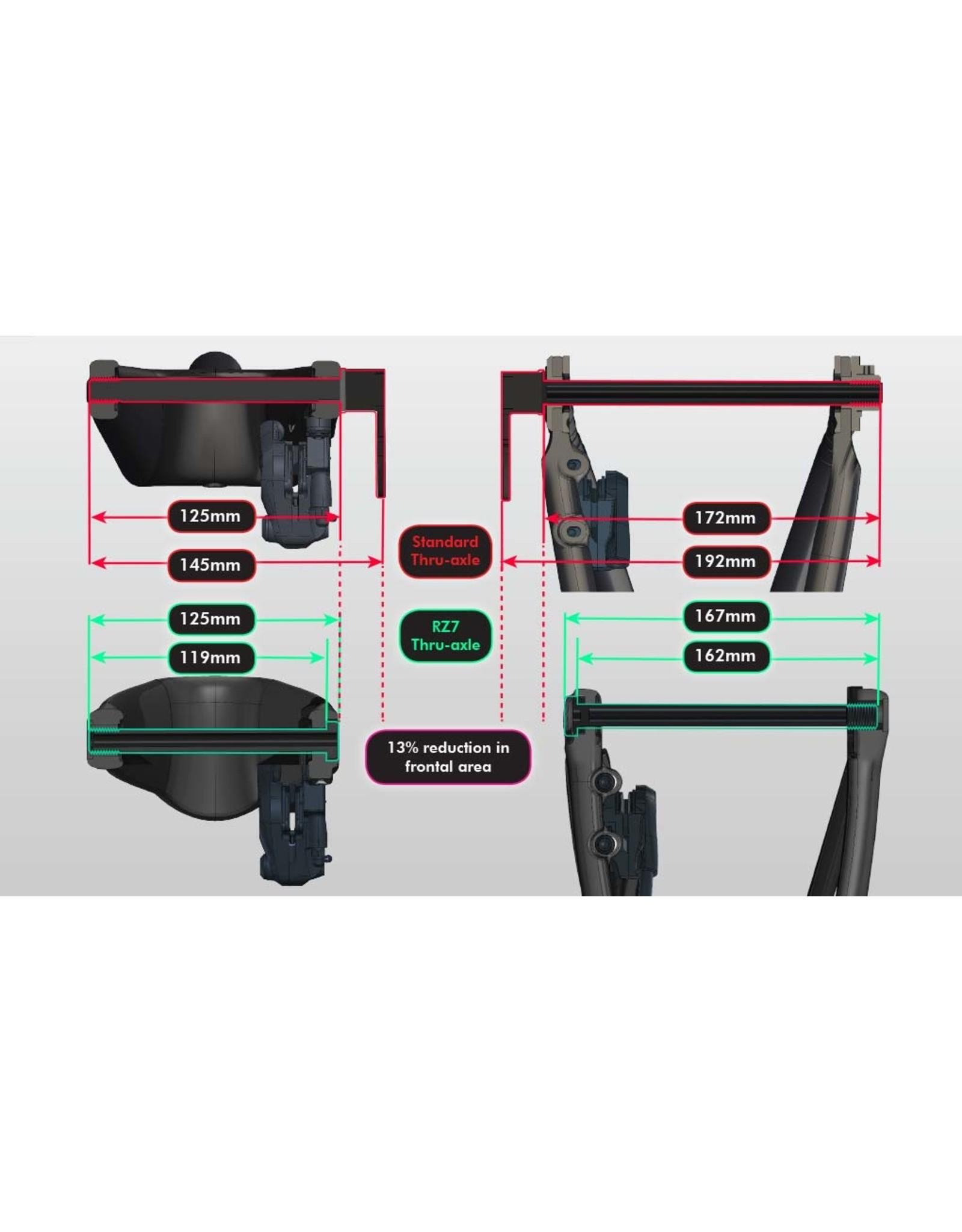 Parlee Parlee RZ7 Frameset (headset, handlebar, stem, & seatpost included)