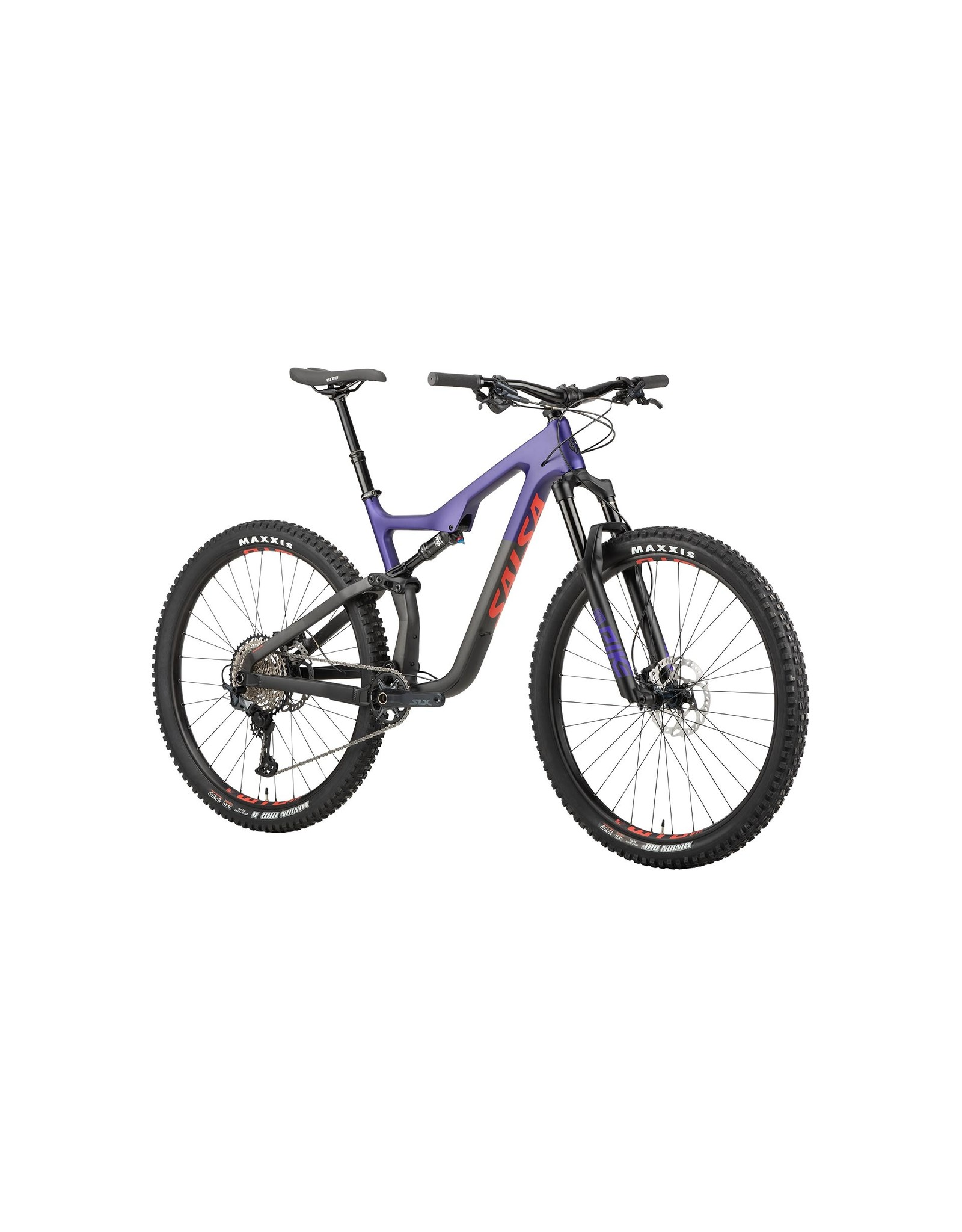 "Salsa Salsa Horsethief Carbon SLX Bike - 29"" Small Carbon, Purple/Black,"