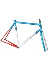 All-City All-City 55cm Mr Pink ZONA Frameset Aqua/Red/White