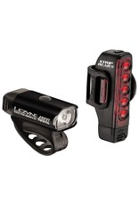 Lezyne Lezyne Hecto Drive 400 Lumens/ Strip Drive 150 Lumens Light Set Black