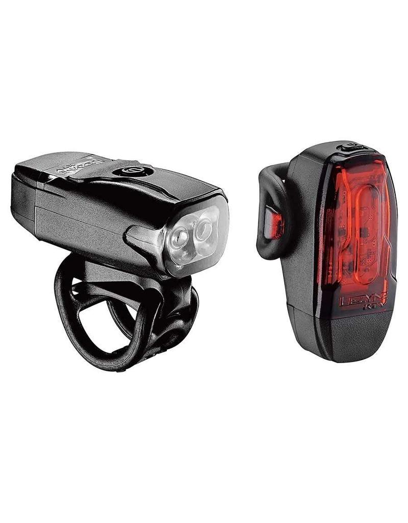 Lezyne Lezyne KTV Drive Light Set 10/200 Lumens Black