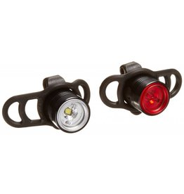 Lezyne Lezyne LED Femto Drive Flashing Light Pair Black