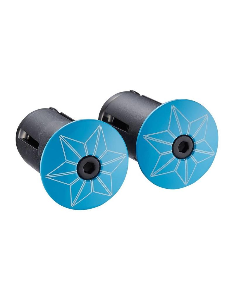 Supacaz Supacaz SSK Handlebar Tape Neon Blue /set Super Sticky Kush