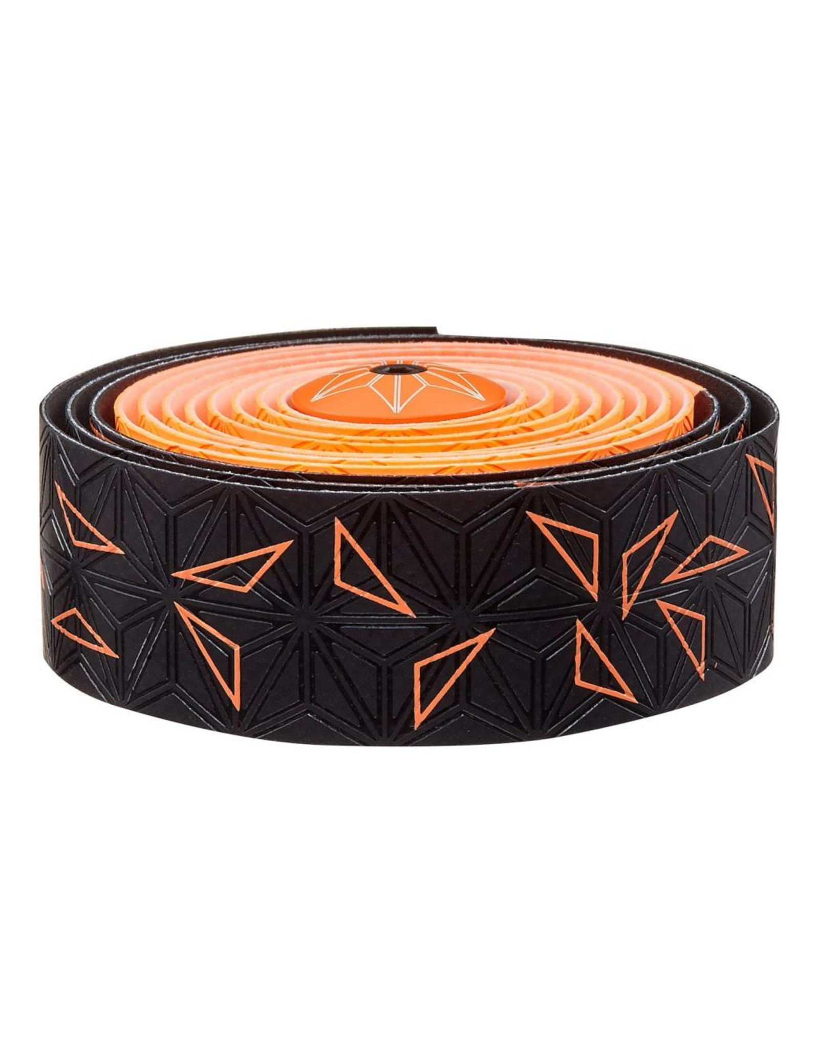 Supacaz Supacaz SSK Star Fade Neon Orange Super Sticky Kush Handlebar Tape,  /set