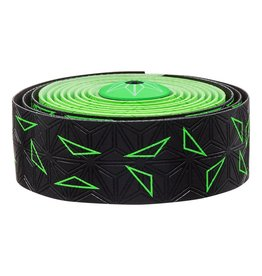 Supacaz Supacaz SSK Star Fade Neon Green Super Sticky Kush Handlebar Tape,  /set
