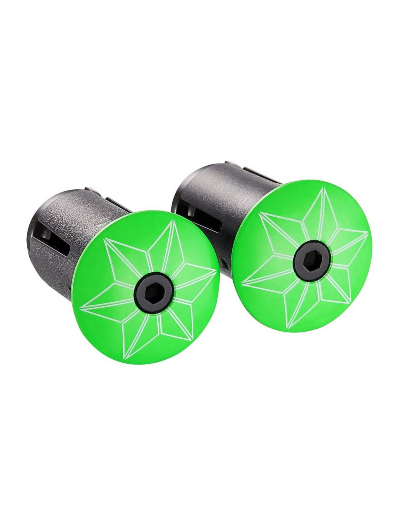 Supacaz Supacaz SSK Star Fade Neon Green Super Sticky Kush Handlebar Tape,  /set