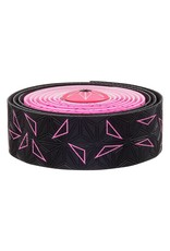 Supacaz Supacaz SSK Star Fade Neon Pink Super Sticky Kush Handlebar Tape,  /set